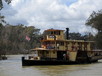 Murray Riverboat at Echuca